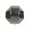 "Hematite 7-8mm Hexagon 18face 16""strand"
